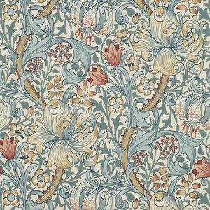 William Morris Golden Lily behang Morris & Co Archive 210401