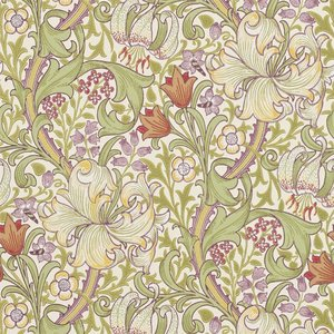 William Morris Golden Lily behang Morris & Co Archive 210399
