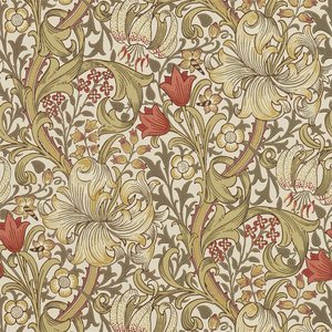 William Morris Golden Lily behang Morris & Co Archive 210400