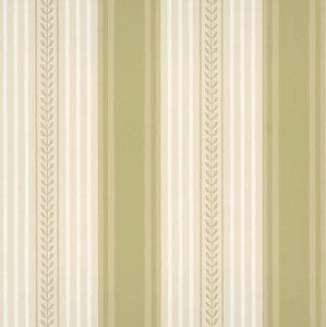 Little Greene behang, London Wallpapers 2, behang,Maddox street, groen, wit, streep,0273MSFROND,