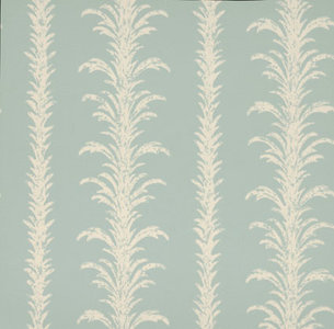 Little Greene behang, London Wallpapers 2, lauderdale, blauw, wit, 0273LAVILLA,