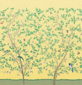Little Greene Belton Scenic behang Sunbeam little greene behang