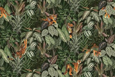 Rebel walls mischievous tigers lushR16812 behang