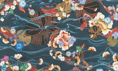 ARTE Koi Behang Kami Collectie 87240