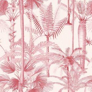 Mind the Gap Palmera Cubana Pink behang