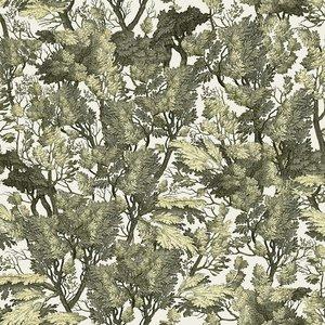 Mind the Gap Tree Foliage Behang