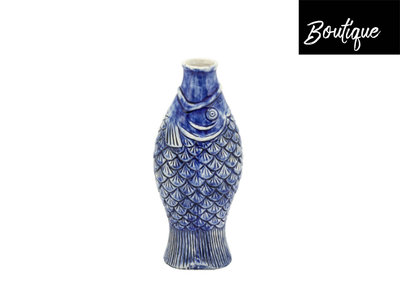 Vis Vaas Blauw Luxury By Nature Boutique