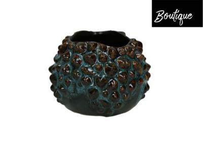 Waxinelichtjouder Baline Aqua Luxury By Nature Boutique