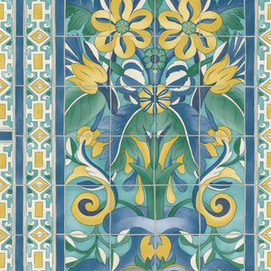 Cole and Son Triana Behang Seville Collection 117/5013