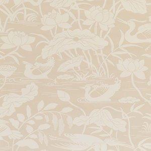 GP & J Baker Heron & Lotus Flower Behang Signature Wallpapers 2 BW45089.2