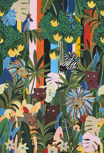 Pierre Frey Les Rois De La Jungle Behang Gallerie 2 Behang Collectie