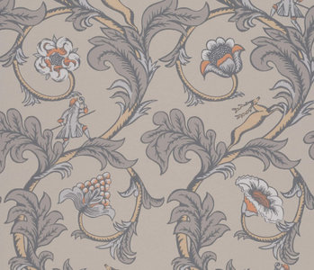 Little Greene Stag Trail Behang National Trust Papers Sterling
