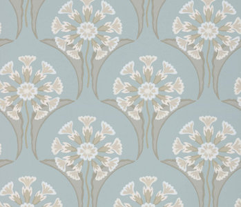 Little Greene Hencroft Behang National Trust Papers Celestial