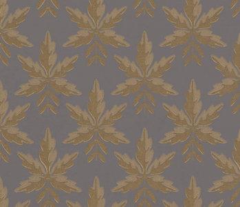 Little Greene Clutterbuck Behang National Trust Papers Corinthian Gold