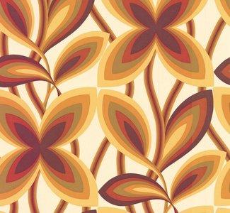 Little Greene Starflower behang - Marigold