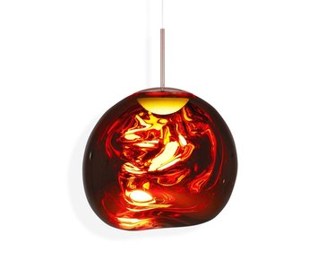 Tom Dixon Melt LED Pedant Copper hanglamp