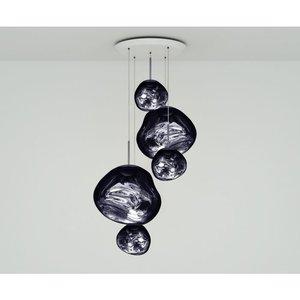 Tom Dixon Hanglamp Melt LED Smoke Large Round