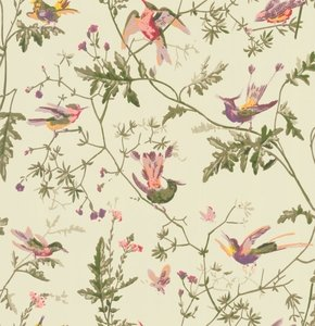 behang cole and son hummingbirds