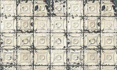 tegelbehang vintage tegels ceiling arte  brooklyn tin 01