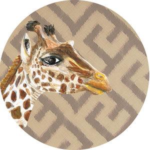Catchii Giraffe Behangcirkel