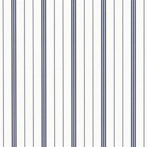 behang ralph lauren trevor stripe navy LWP66198W