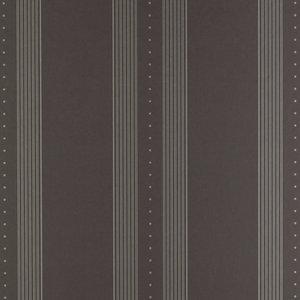behang ralph lauren tuxedo club stripe black LWP66191W