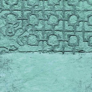 176242437 - Turquoise Behang