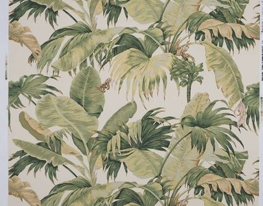 behang boussac bananier behangpapier bananenblad W4630A01