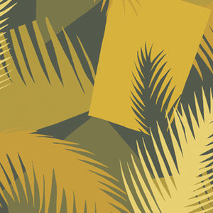behang cole and son deco palm 105-8035 geometric ii luxury by nature