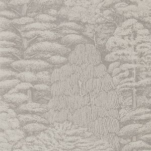 Behang Sanderson Woodland Toile 215718 Woodland Walk Luxury By Nature