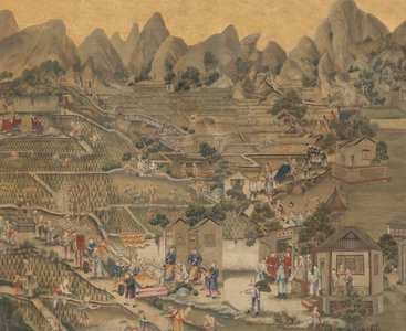 Chinoiserie: Chinese Figuren en Architectuur (Klassieke Behangsels)
