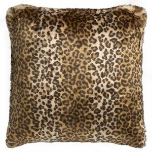 Fake fur kussen Leopard luipaard Faux Fur NOBILIS Luxury By Nature cou1029_4