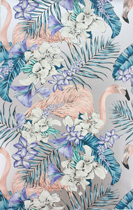 Behang Matthew Williamson Flamingo Club W6800-05 Cubana Behangpapier Collectie Luxury By Nature
