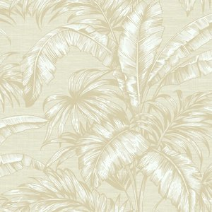 Behang Wallquest Tropical Leaves SG41405 sage 2 luxury by nature