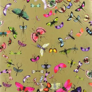Behang Christian Lacroix  PCL666_05_Mariposa - Or