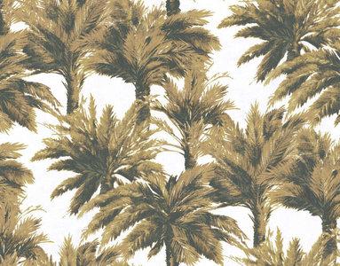 behang pierre frey mauritius nuit FP320003 les dessins palmbomen behang