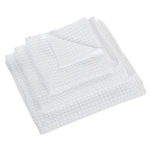 Wafel handdoek wit 100 Pousada collectie Abyss Habidecor handdoeken