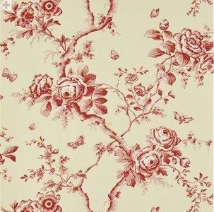 Behang Ralph Lauren Ashfield Floral Vermilion PRL027-02 Luxury By Nature