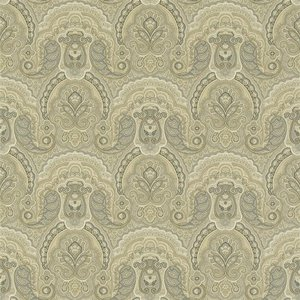 Behang Ralph Lauren Crayford Paisley  PRL034-02 Stone  luxury by nature
