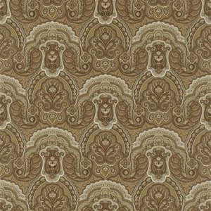 Behang Ralph Lauren Crayford Paisley  PRL034-03 Sepia  luxury by nature