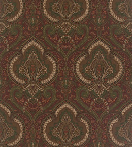 Behang Ralph Lauren Castlehead Paisley PRL037-02 Chestnut Luxury By Nature