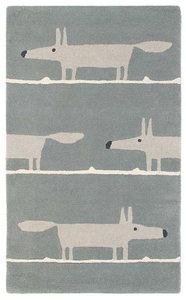 vloerkleed Mr Fox silver tapijt carpet karpet vloerkleden amsterdam luxury by nature 1.1