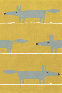 vloerkleed Mr Fox mustard tapijt carpet karpet vloerkleden amsterdam luxury by nature 1
