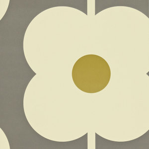 Giant Abacus Flower orla kiely behang luxury by nature
