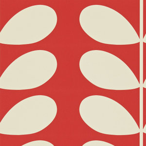 giant stem orla kiely behang luxury by nature rood