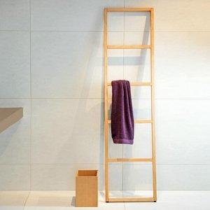 Handdoek Ladder Beukenhout: Luxe Badkamer Accessoires (WO HTLB ...