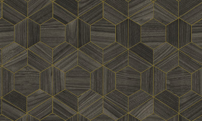 Behang ARTE Hive 42035 - Ligna Behangpapier Collectie Luxury By Nature