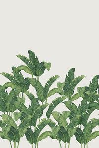 Tres Tintas Behang Bananella BA03 Bananenblad jungle