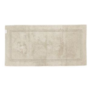 luxe badmat creme reversible 101 maat 60 x 100 cm abyss habidecor groot