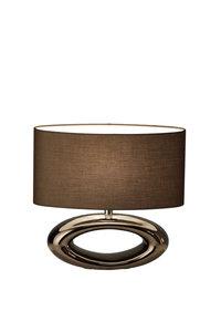 Tafellamp liggend ovaal klein 100-544-RBG luxury by nature